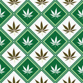 Cannabis seamless texture