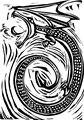 Woodcut Dragon