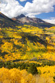 Scenic San Juan mountains