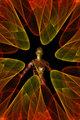 Spiral fractal figure