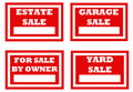 Four signs for homeowners