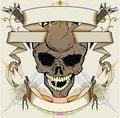 Skull ribbon