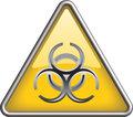 Biohazard icon symbol, icon