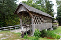 Wood Covered bridge.