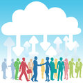 Company people business IT cloud computing