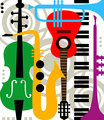 Abstract vector music instruments