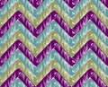 Zigzag striped background