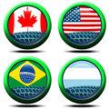 Icons flag America