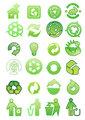 Set of environmental icons