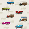 Vintage truck pattern