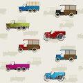 Vintage truck pattern