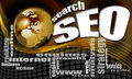 SEO search world background