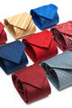 Varicoloured male ties