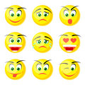 yellow smile icons