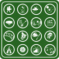 hobbies icon set