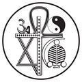 Universal religions symbol