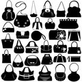 Female purse set