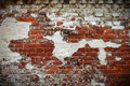 Grunge red brick wall texture