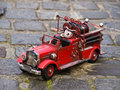 replica of firetruck