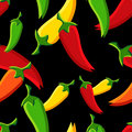 Chilli peppers pattern