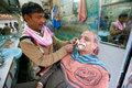 Barber shop- shaving