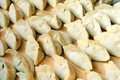 Chinese raw dumplings