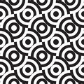 seamless monochrome pattern (vector)