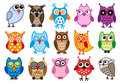 vector owls