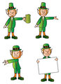 Four Leprechauns