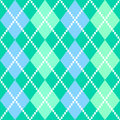 Retro colorful argile pattern or background - blue and green