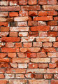 Wall from old bricks as background 