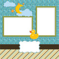 Baby - photo album - scrapbook page - 1