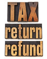 tax, return and refund