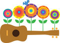 Ukulele Flowers