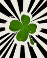 Abstract St. Patrick's Day