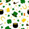 Seamless Saint Patrick's background 