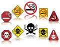 No Smoking Icons