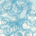 abstract blue color swirly background