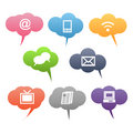Colored Communication Symbols