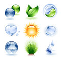 Icon set - Nature