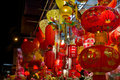 Chinese New Year Lanterns on Storefront