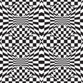 Op Art Background #!