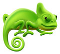 Cute Chameleon Illustration