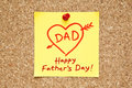 Happy Fathers Day Sticky Note