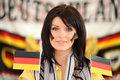 Brunette Germany supporter