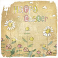 Happy Easter Vintage Card.