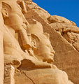 Rameses II statue