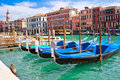 Venetian gondolas