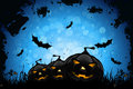 Grunge Halloween Party Background