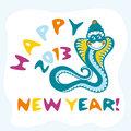snake vector card